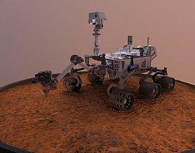 3D model Curiosity - Mars Rover
