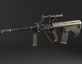 3D model Steyr Aug A1 assault rifle