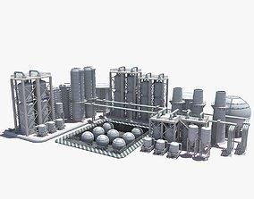 3D model Refinery refinery