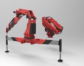 3D Boom Crane CAD model