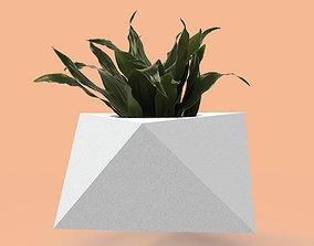3D printable model Mold for concrete planter pot