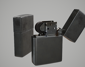 3D model realtime Zippo Lighter