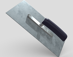 3D asset Smoothing Trowel