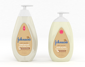 3D Johnsons Skin Nourish Baby Wash