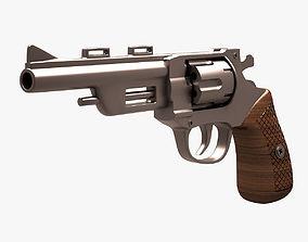 Revolver 004 3D model