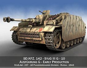 StuG III - Ausf G - 10 - Early Production 3D