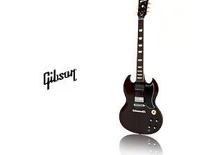 3D Gibson SG