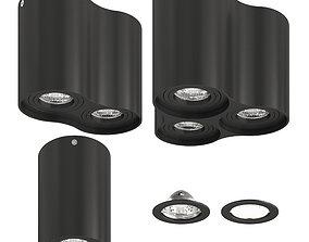 Lightstar Binoco Black 3D model