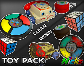 Classic Toy Collection 3D