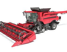 3D model Combine Harvester 2020