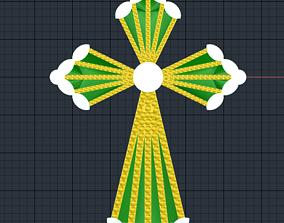 shining 3D print model cross