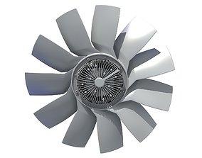 Engine Cooling Fan 3D