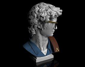 David Hipster STL 3D printable model