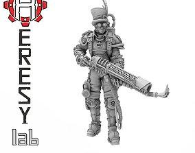 3D print model Heresylab - Steam Punk Alistar Inferno