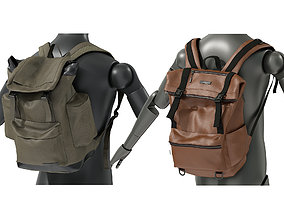 Backpack Collection 3 3D