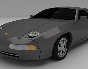 3D model Porsche 928