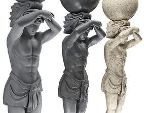 art 3D model Atlant Sculpture