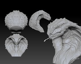 The deadly Cobra head 3D printable model