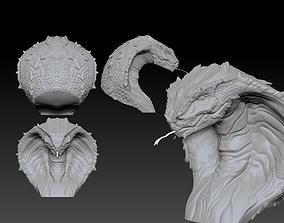 The deadly Cobra head 3D print model