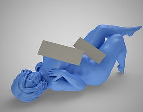 3D print model Sexy Woman Lying On Floor