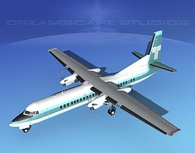 3D Fokker F-60 Transamerica