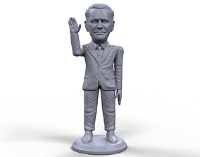 Joe Biden stylized high quality 3d printable miniature