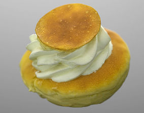 3D model Baba cake