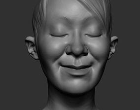 Female Heads v2 3D