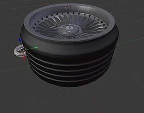 Rim keychain 3D printable model