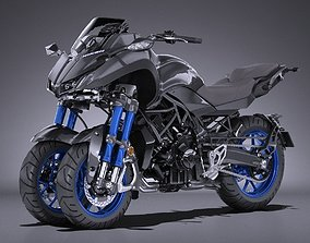 3D model Yamaha Niken 2019