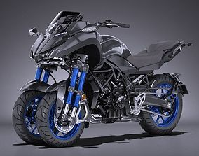 Yamaha Niken 2019 3D model
