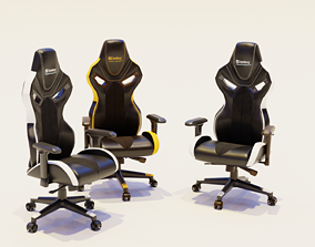gaming chair 3D model VR / AR ready