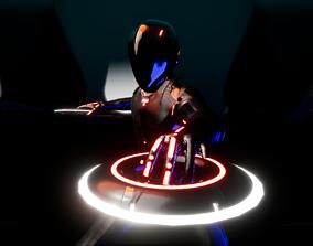 3D model Rinzler Tron-Legacy