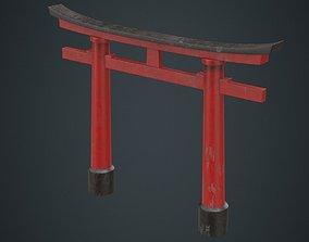 3D model Torii Gate 1B