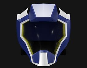 kirayamato Kira yamato pilot helmet 3D