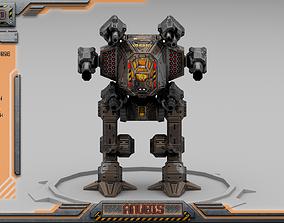 3D model Anubis BattleMech