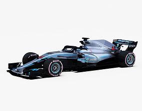 3D model Mercedes W09 Car