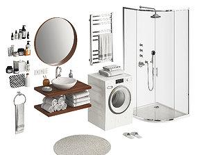 Bathroom Set 2 Part 1 3D model