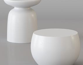 3D Uniqwa - AKONI and SANTORINI side tables