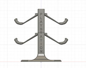 PS4 Controller Stand 3D print model