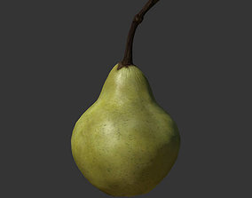 game-ready Pear 3D Model