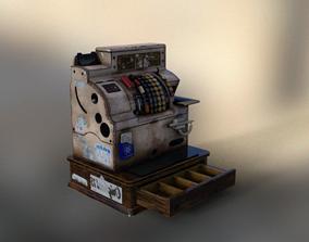 3D MUSEUM Antique Cash Register