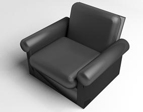 Sofa Single Seater 3 3D model