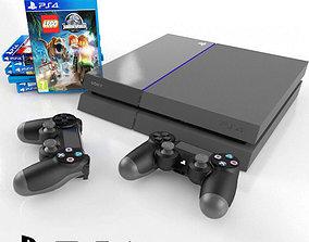 3D model Sony PlayStation 4 sony