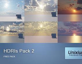 HDRI Skies 12K PACK 2 3D model