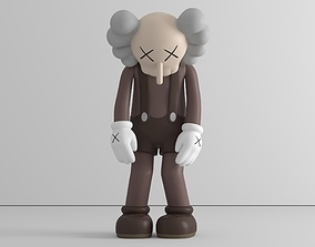 Small lie - by Kaws - 3 colors - 3D