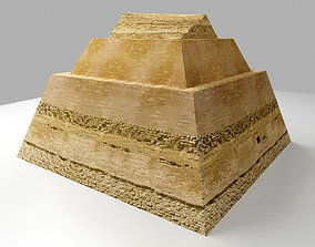 3D asset game-ready Meidum Pyramid - The Ancient Egypt