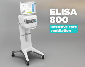 3D asset Intensive care ventilator - Elisa 800