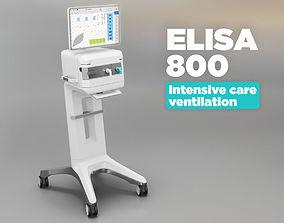 3D asset Intensive care ventilator - Elisa 800