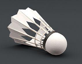 Badminton Shuttlecocks 3D model